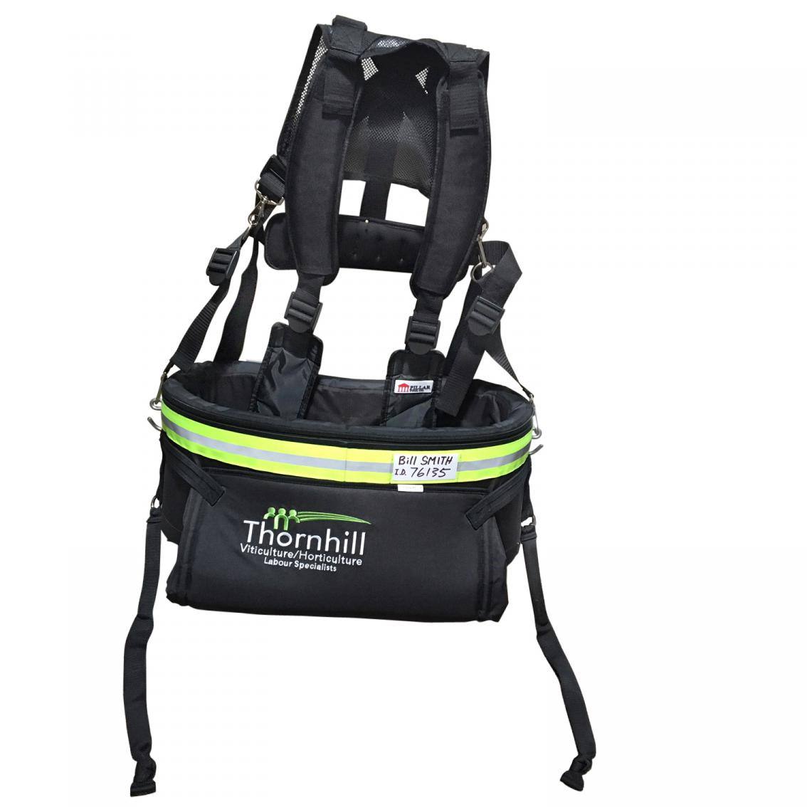 Pillar Fruit Picking Bag + Harness
